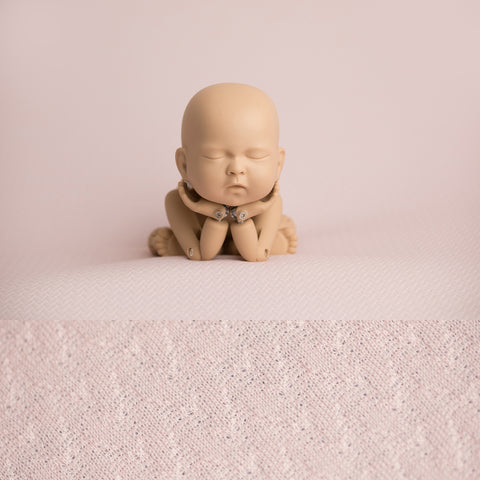 Newborn Fabric Backdrop - London - Pale Pink