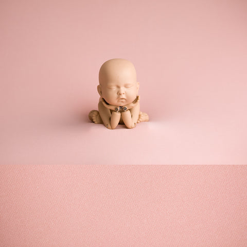 Newborn Fabric Backdrop -  Oscar - Pink Marl