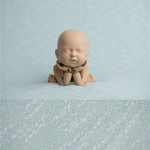 Newborn Fabric Backdrop - Rebecca - Blue