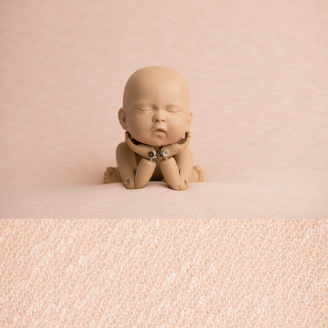 Fabric Backdrop - Rebecca - Blush