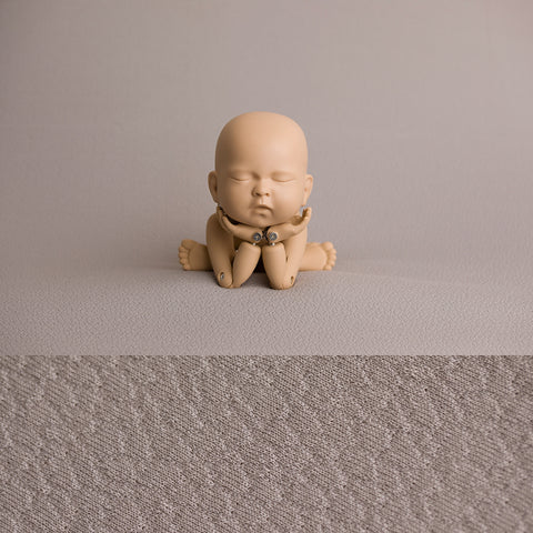 Newborn Fabric Backdrop - Reese - Pebble Grey