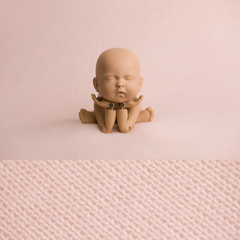 Newborn Fabric Backdrop - Taylor - Baby Pink