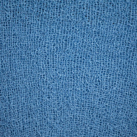 Stretch Knit Wrap 003 - Mid Blue