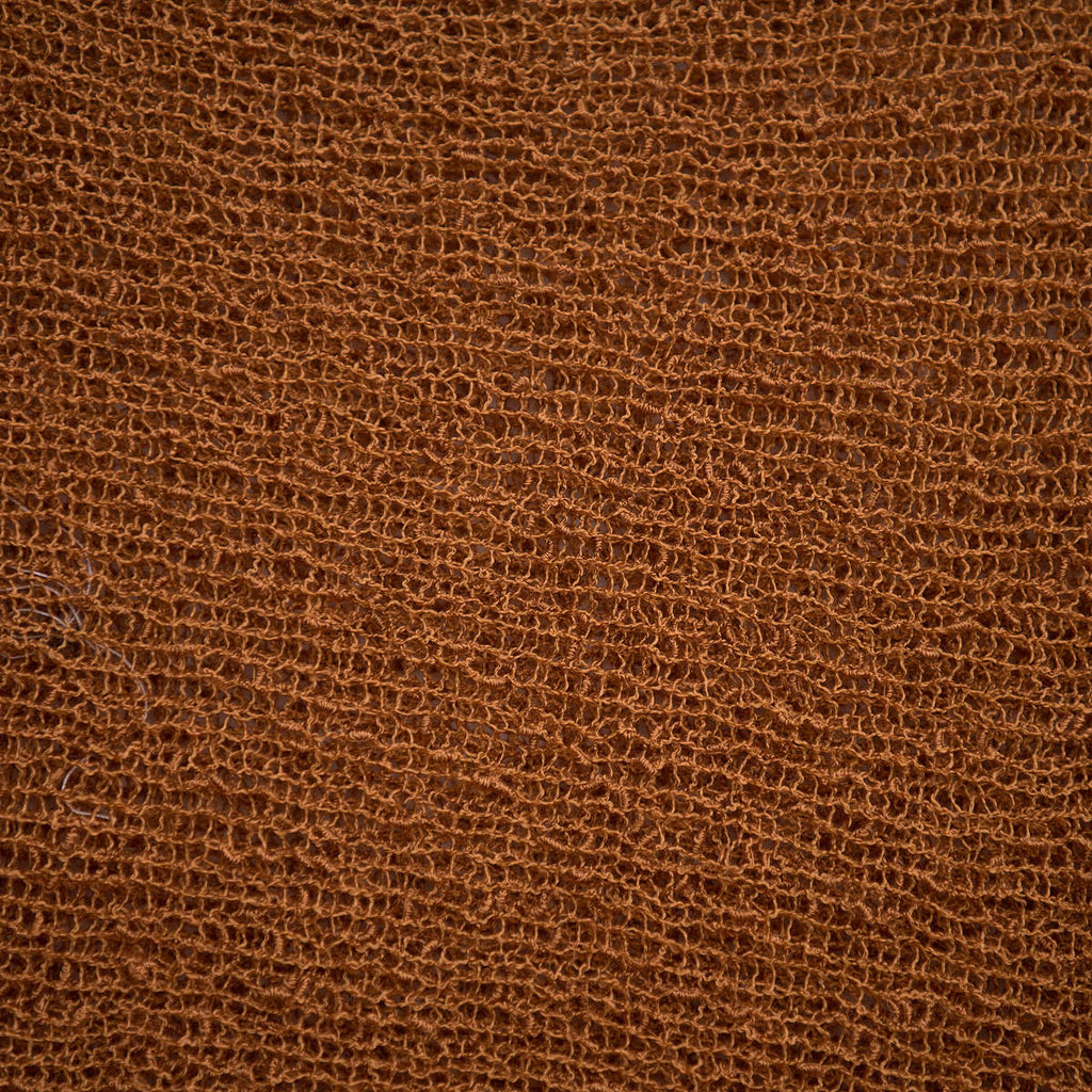 Stretch Knit Wrap 009 - Rust