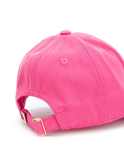 MINI RODINI Unisex pink Squirrel Cap