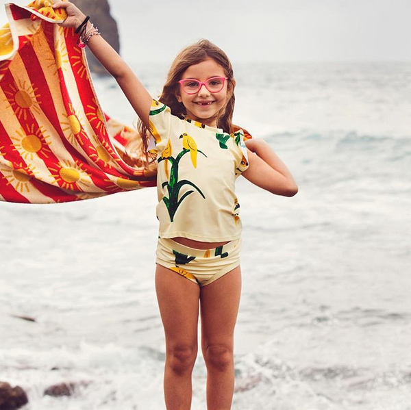 Mini Rodini Sun Stripe Beach Towel