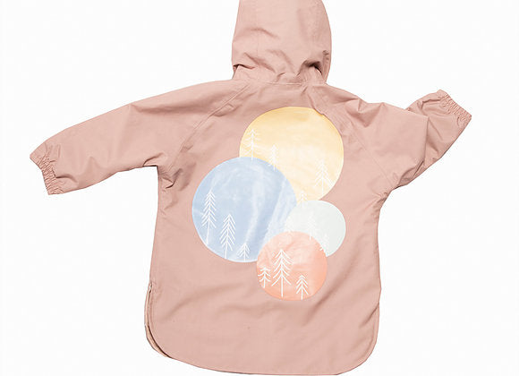 LEA & JOJO LEA MOON 3-IN-1 LIGHTS PRINT COAT