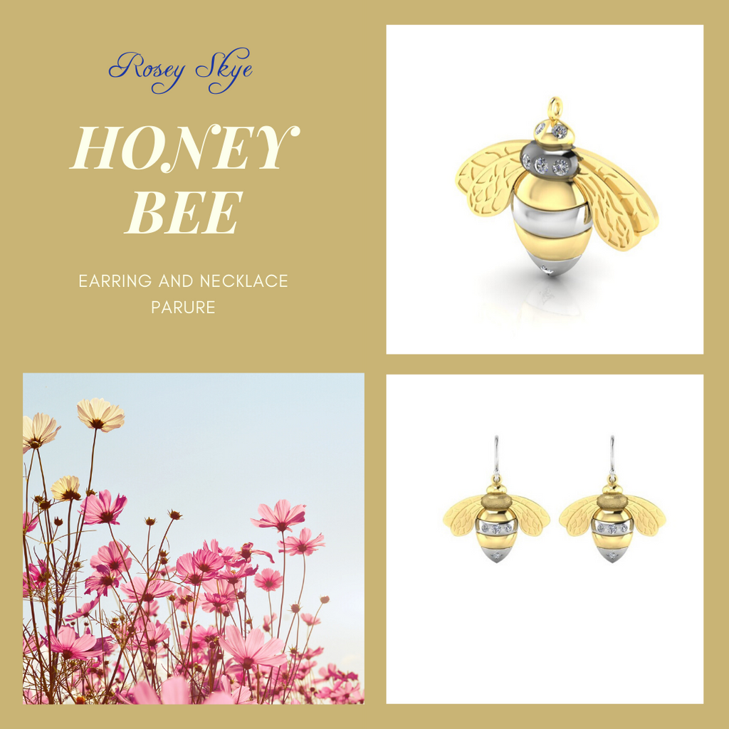 Introducing the Honey Bee Parure