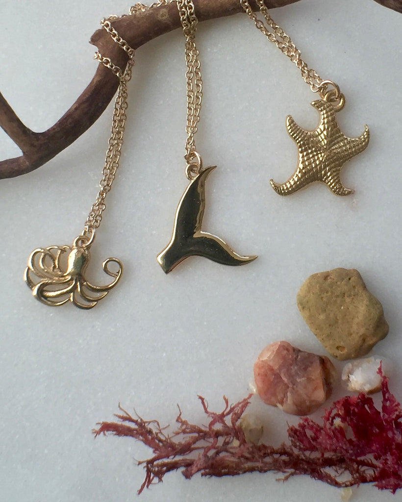 Seastar Charm Necklace