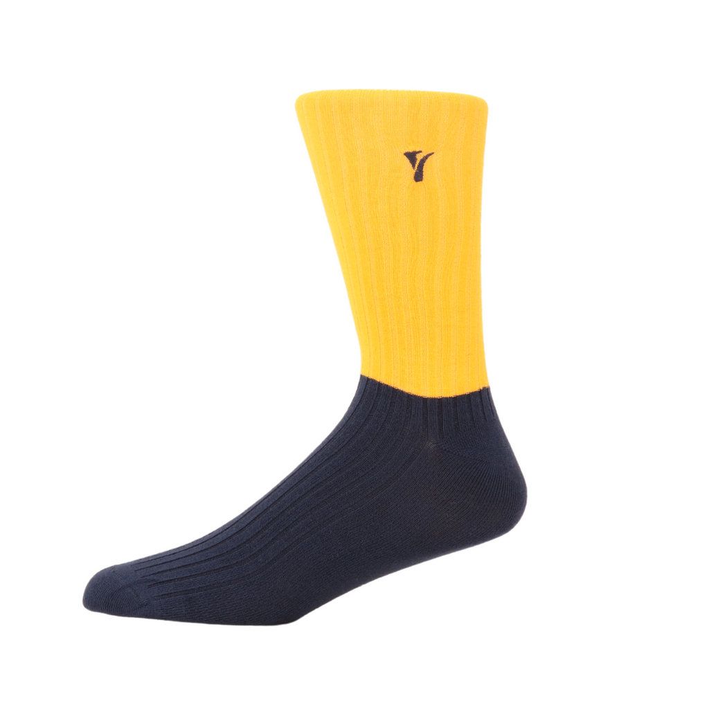 men's artistic patterned bamboo socks