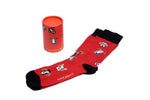 Mens funky colourful dog socks