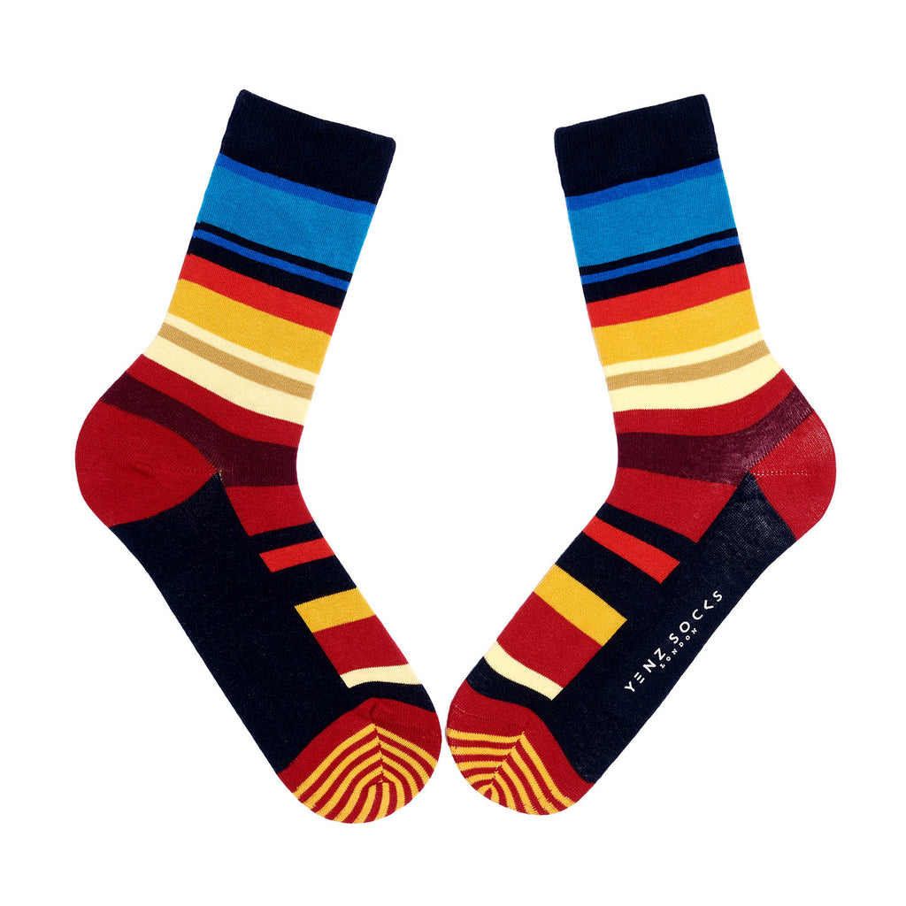 Classic Stipe Socks for Men