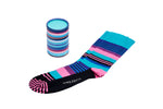Mens colourful stripy socks
