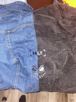 """2face"" VALT Jean Jacket Split"