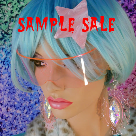 ::SAMPLE SALE:: Light Coral Pink Power Curve Visor