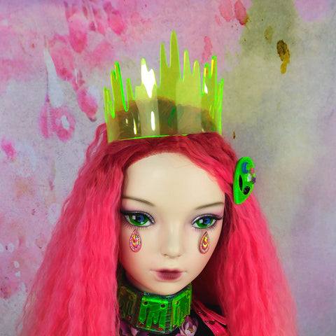 Green Drippy Slime Tiara OR ANY COLOR