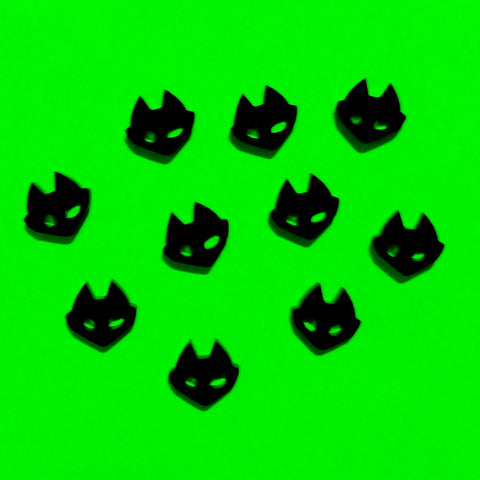 Solid Color Bad Kitty Charms