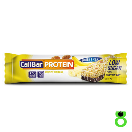 CaliBar - 20g Whey Protein Bar - Crispy Banana