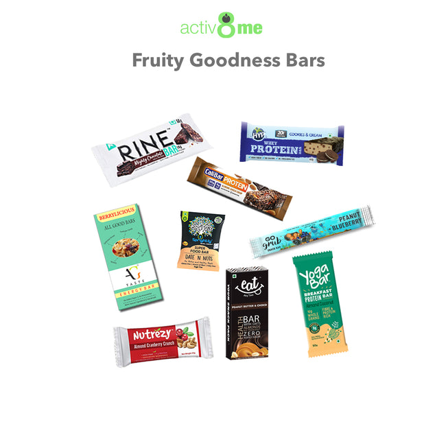 Activ8Me | Fruity Goodness Bars Combo