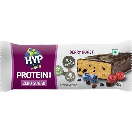 HYP - Sugarfree Whey Protein Bar - Berry Burst