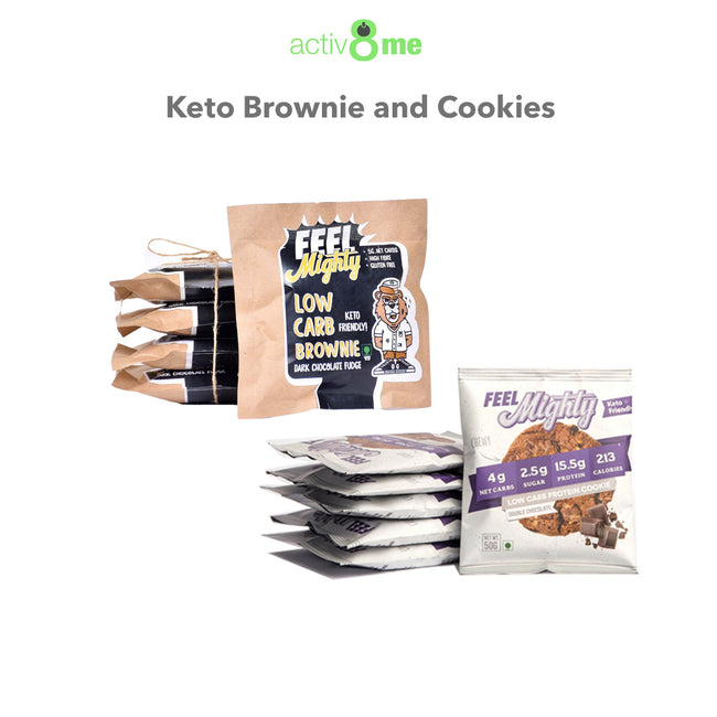Activ8Me | Keto Brownies and Cookies Combo