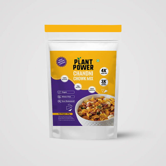 Plant Power - Protein Chivda - Chandni Chowk Mix (200g)