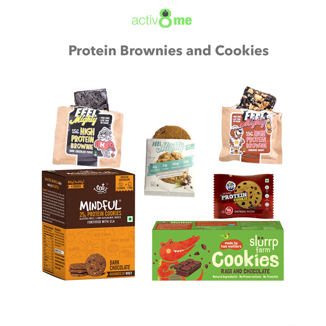 Activ8Me | Protein Brownies and Cookies Combo