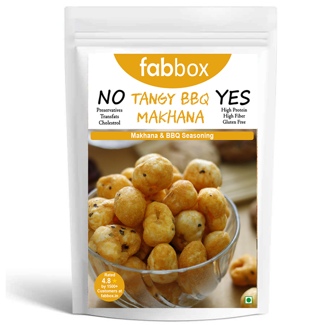 Fab Box - Makhana - Tangy Barbeque