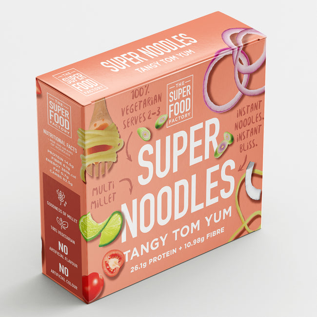 The Superfood Factory - Super Noodles - Tangy Tom Yum