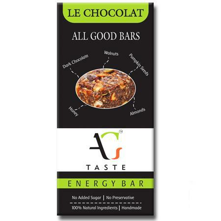 All Good Taste | Energy Bar | Le Chocolat