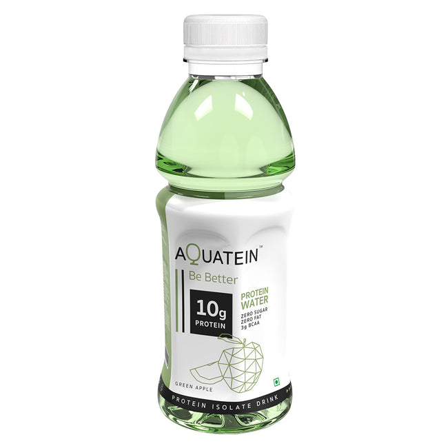 Aquatein - 10g Protein Water - Green Apple