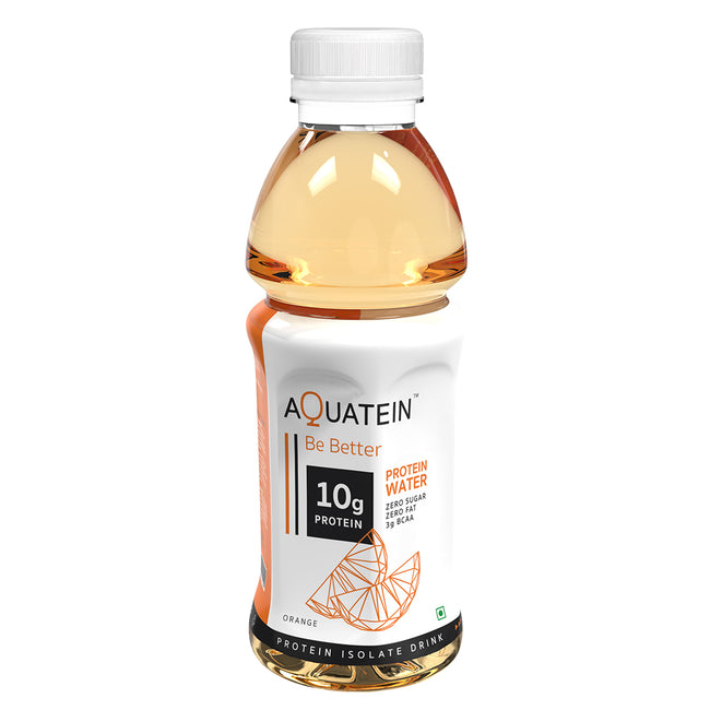 Aquatein - 10g Protein Water - Orange