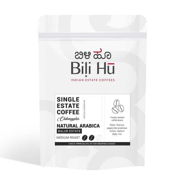 Bili Hu | Single Estate Coffee | Balur Estate (Medium Roast) | Beans