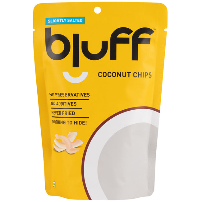 Bluff - Coconut Chips - Slightly Salted