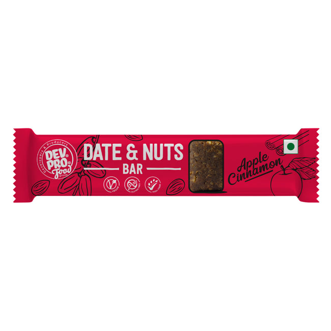 Dev Pro - Date and Nuts Bar - Apple Cinnamon