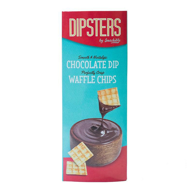 Dipsters | Waffle Chips With Chocolate Dip