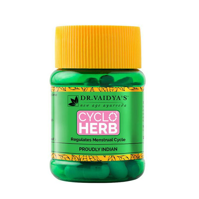 Dr. Vaidya's New Age Ayurveda | Cycloherb | Ayurvedic Formula for Female Wellness (Pack of 2)