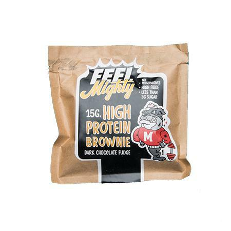 Feel Mighty - High Protein Brownie - Dark Chocolate Fudge