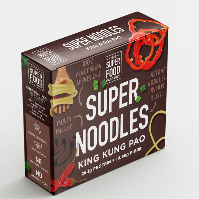 Super Food Factory - King Kung Pao Healthy Instant Noodles