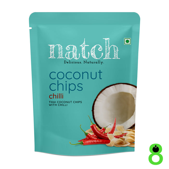 Natch | Coconut Chips | Chilli