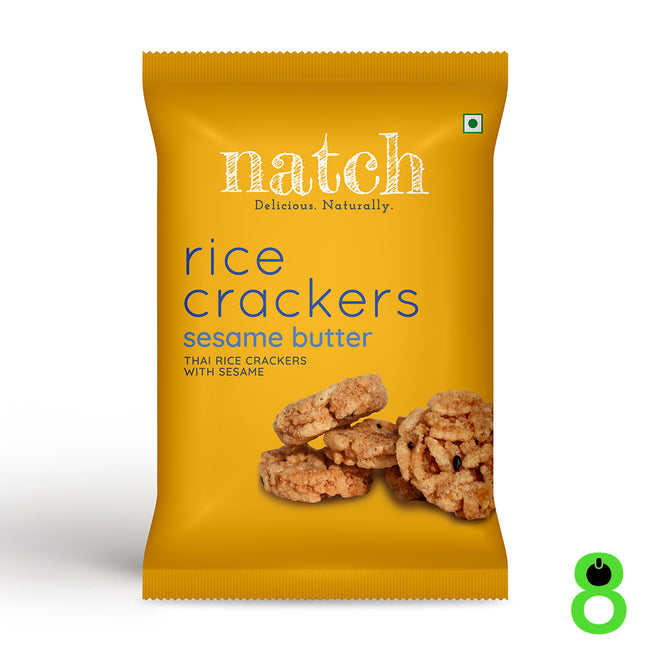 Natch | Rice Crackers | Sesame Butter