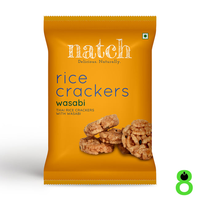Natch | Rice Crackers | Wasabi