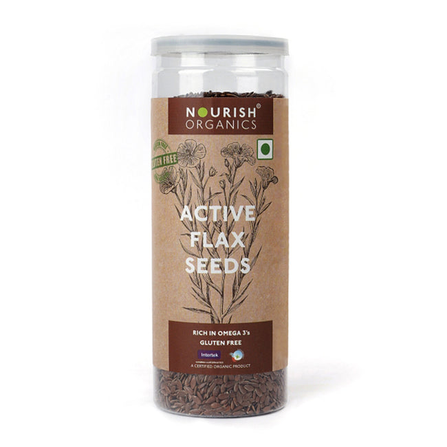Nourish Organics - Active Flax Seeds