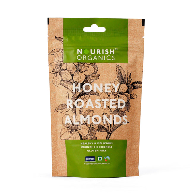 Nourish Organics - Honey Roasted Almonds