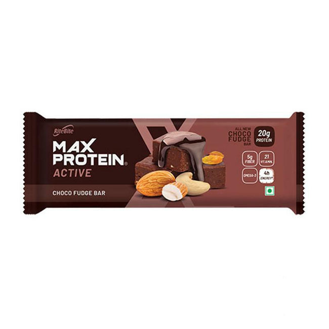 RiteBite - Max Protein Active 20g Protein Bar - Choco Fudge