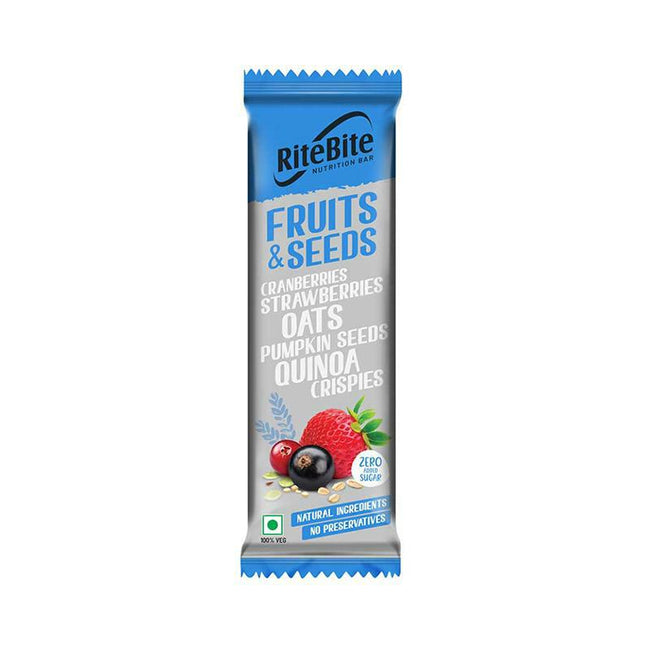 RiteBite - Nutrition Bar - Fruits & Seeds