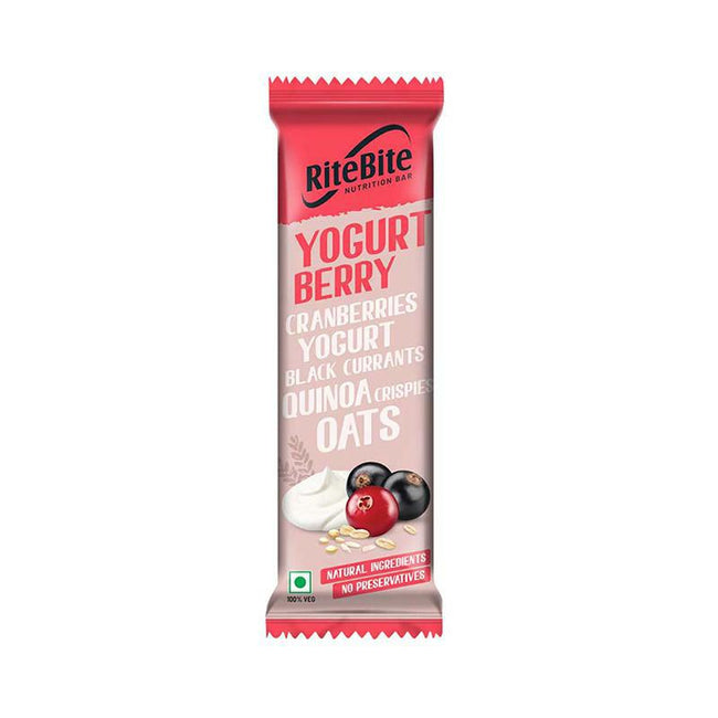 RiteBite - Nutrition Bar - Yogurt Berry