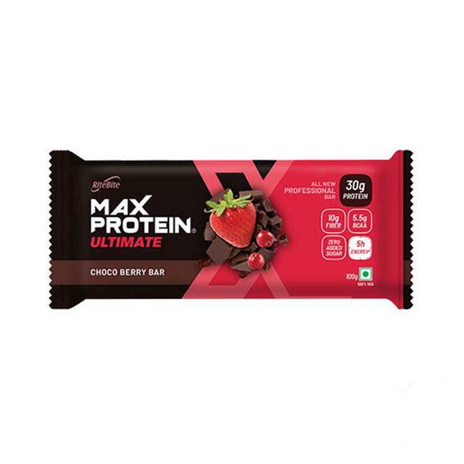 RiteBite - Max Protein Ultimate 30g Protein Bar - Choco Berry