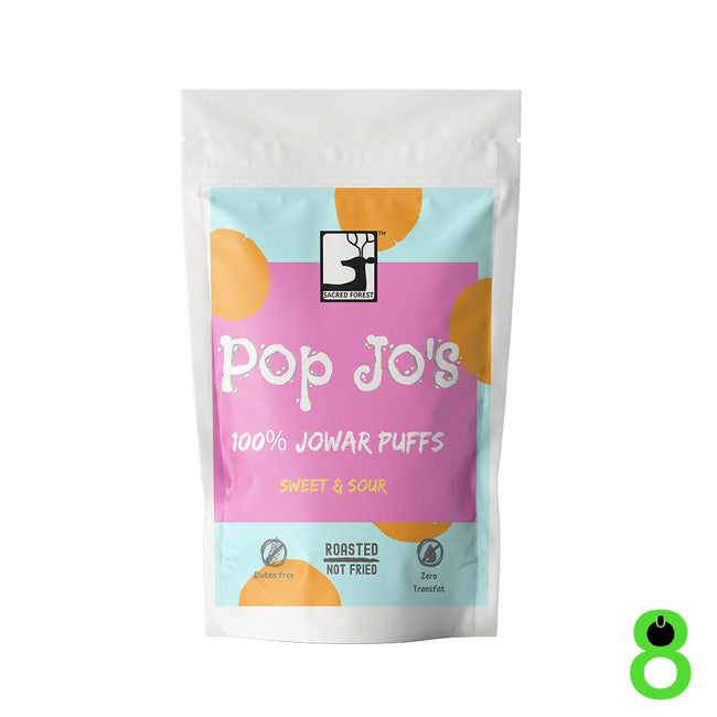 Sacred Forest | Pop Jo's Jowar Puffs | Sweet and Sour