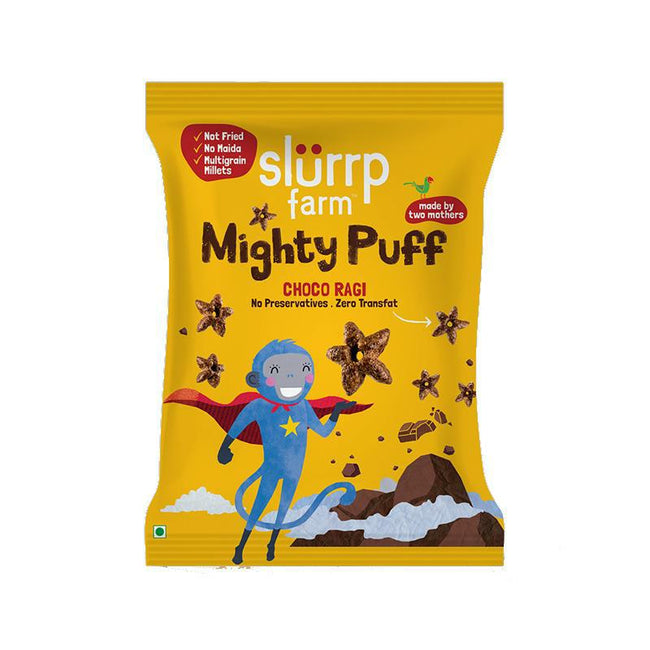 Slurrp Farm | Mighty Puff | Choco Ragi